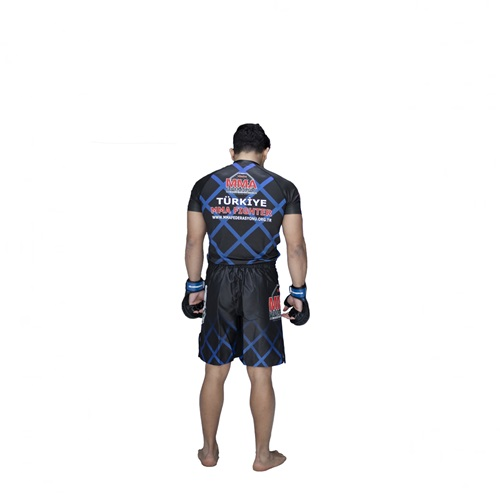 Rash Guard Mavi (MMA Federasyonu Maç Rash Guard )